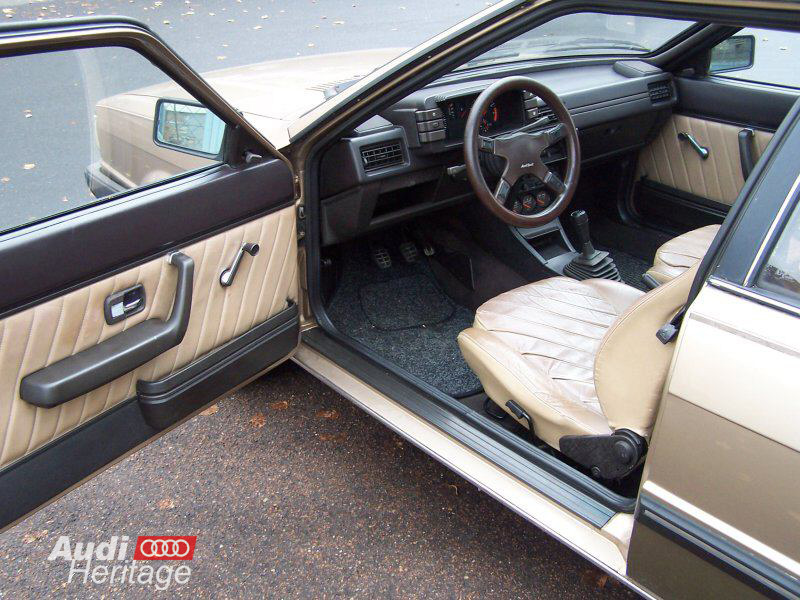 Audi 80 cd5s 1983 1 9l 5cyl b2 typ81 pr sentation for Audi 80 interieur