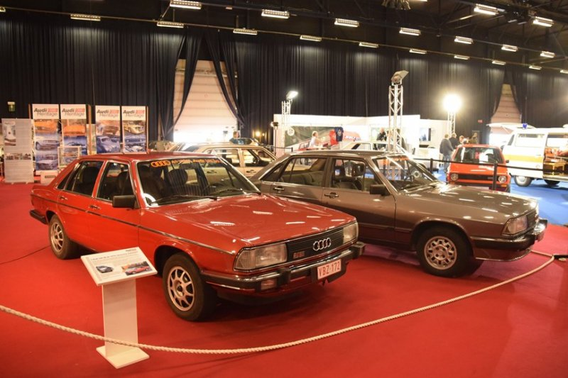 Audi 100 CS 5E 40 ans typ43 ciney