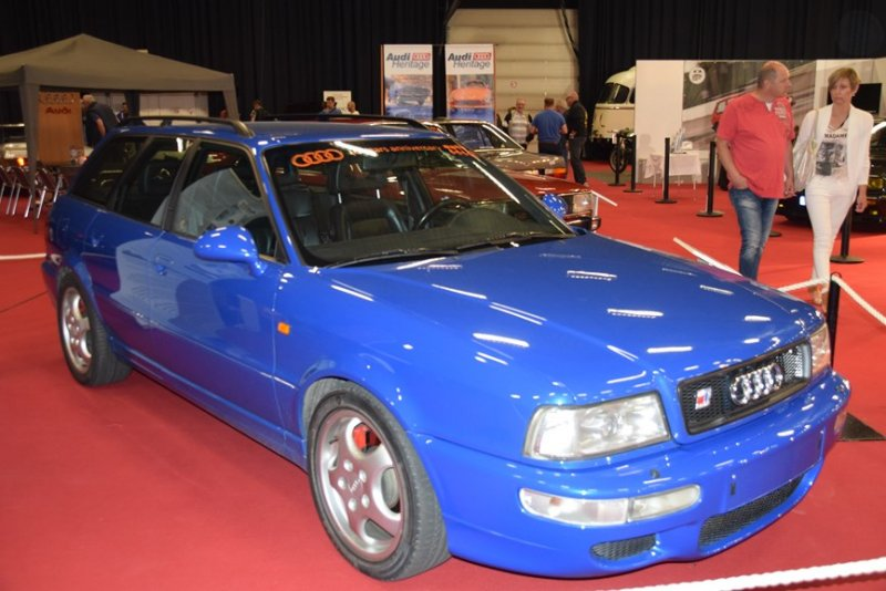 audi RS2 40 ans 5 cylindres ciney 2017 (7)
