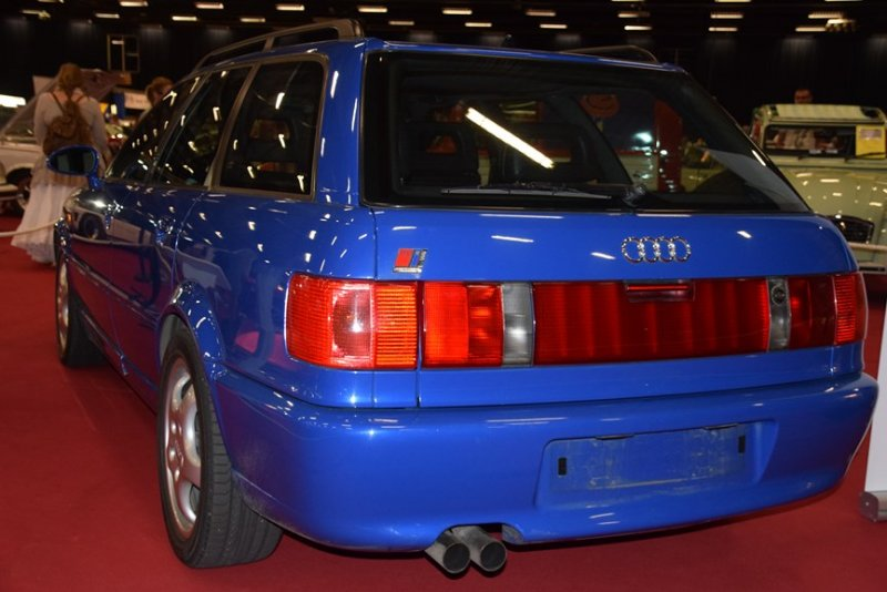 audi RS2 40 ans 5 cylindres ciney 2017 (8)