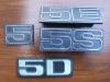 Audi Heritage emblemes 5 cylndres