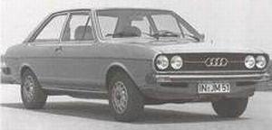 Audi 80 type B1 1972 - 1976