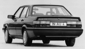 Audi 90 quattro type 85 B2 1985 - 1986