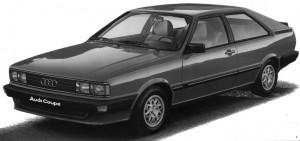 Audi Coupé 5S type 81 B2 1980 - 1983