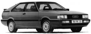 Audi Coupé GT type 85 B2 1985 - 1987