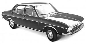 Audi 100 type C1 1968 - 1976