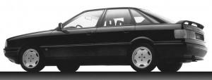 Audi 90 quattro type 8A B3