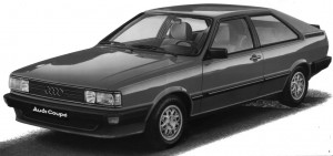 Audi Coupé 5E type 81 B2 1983 - 1984