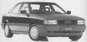 Audi 80 type 89 B3 1987 - 1889