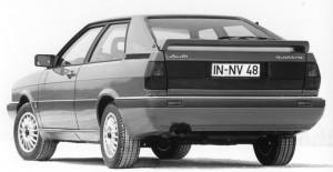 Audi Coupé quattro B2 1985