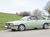 Audi coupe GT verte